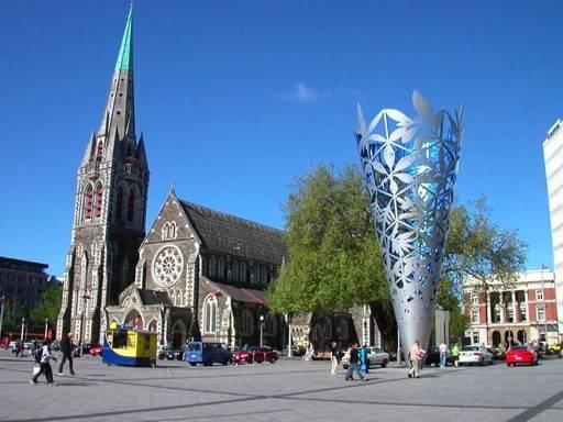 Sitios de interés en Christchurch, Nueva Zelanda
