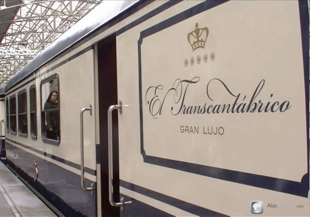 Un viaje en el Tren Transcantábrico Gran Lujo de San Sebastián a Santiago de Compostela
