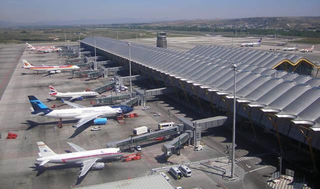 El Aeropuerto Adolfo Suárez en Madrid