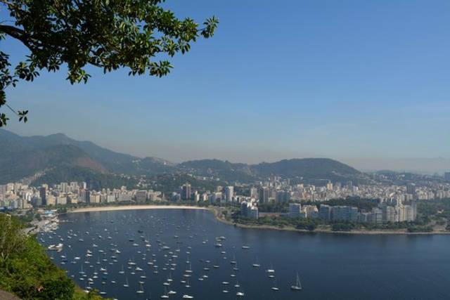 Botafogo vista desde el morro de Urca_agarrandomaletas