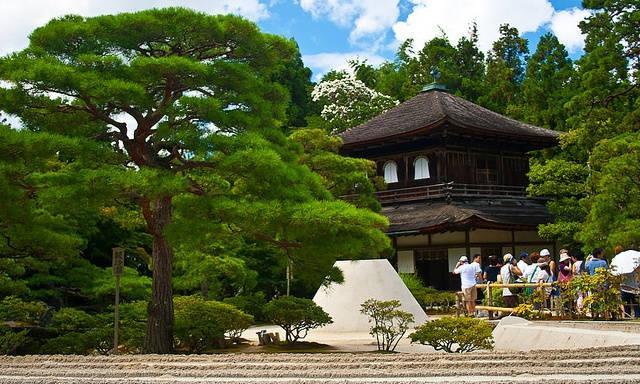 El templo Ginkakuji o pabellon de plata_agarrandomaletas