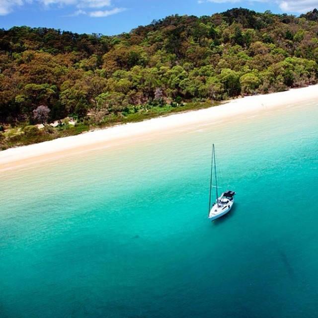 Isla Moreton Una isla idílica de Australia
