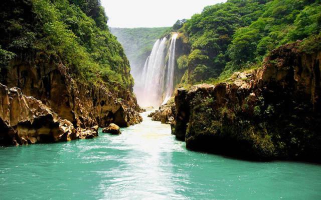 Río Tampaón .El río más bonito de México