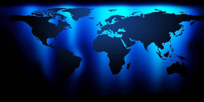 Mapa Mundi Africa America Asia Europa Oceana  AgarrandoMaletas